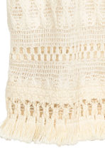 Top in cotton lace - Natural white - Ladies | H&M CN 3