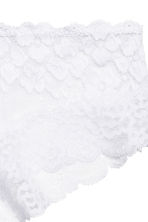 Lace hipster briefs - White - Ladies | H&M GB 3