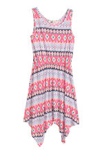 Patterned jersey dress - Cerise/Mint - Kids | H&M CN 2