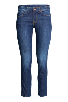 Slim Low Cropped Jeans
