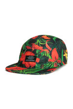 Patterned cap - Black/Red - Men | H&M CN 1