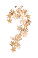 Ear decoration with flowers - Gold - Ladies | H&M IE 1