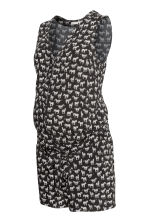 MAMA Patterned playsuit - Black/Zebra - Ladies | H&M CN 2