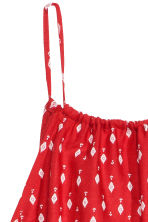 Patterned playsuit - Red/Patterned - Ladies | H&M GB 3