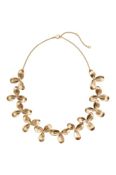 Collana corta - Dorato - DONNA | H&M IT