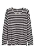 Grey/Black striped