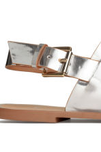 Sandals - Silver - Ladies | H&M CN 5