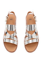 Sandals - Silver - Ladies | H&M CN 3