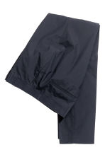 Pima cotton suit trousers - Dark blue - Men | H&M CN 3