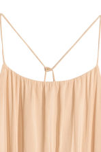 Maxi dress - Light beige -  | H&M CN 3