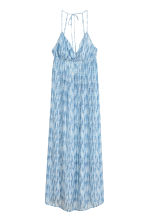 Maxi dress - Blue/White/Patterned - Ladies | H&M CN 2