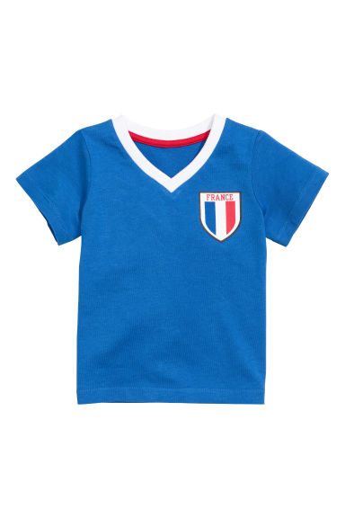 Football shirt - Blue/France - Kids | H&M CN 1