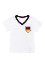 Football shirt - White/Germany - Kids | H&M CN 1
