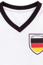 Football shirt - White/Germany - Kids | H&M CN 3