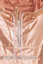 Shimmering metallic anorak - Rose gold - Ladies | H&M GB 3
