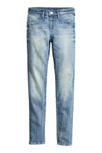 Skinny Fit Generous Size Jeans - Light denim blue - Kids | H&M CN 1