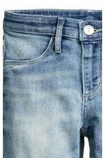 Skinny Fit Generous Size Jeans - Light denim blue - Kids | H&M CN 3