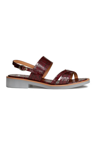 Sandals - Plum - Ladies | H&M CN 1