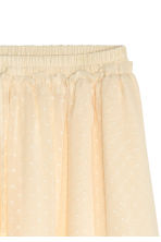 Chiffon skirt - Natural white - Ladies | H&M CN 3