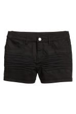 Shorts in twill - Nero - DONNA | H&M IT 2