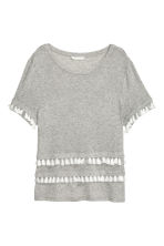Top in jersey - Grigio mélange - DONNA | H&M IT 2