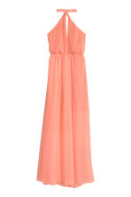 Halterneck dress - Light coral - Ladies | H&M CN 2