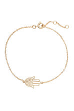 Necklace and bracelet - Gold - Ladies | H&M CN 2