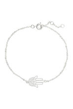 Necklace and bracelet - Silver - Ladies | H&M 2