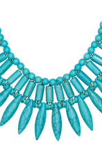 Short necklace - Turquoise - Ladies | H&M CN 2