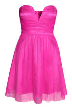 Tulle dress - Cerise - Ladies | H&M CN 1