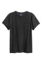 2-pack T-shirts - Black/White/Striped - Men | H&M CN 4