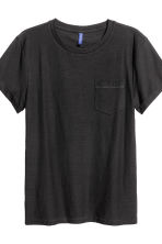 2-pack T-shirts - Black/White/Striped - Men | H&M CN 5