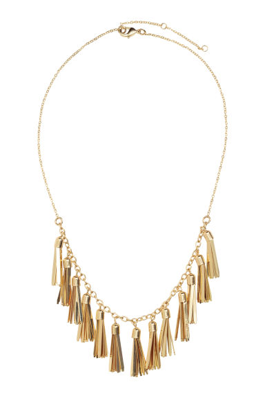 Necklace with tassels - Gold - Ladies | H&M CN 1