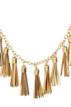 Necklace with tassels - Gold - Ladies | H&M CN 2