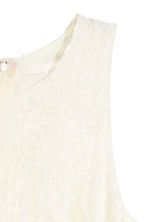 Lace dress - Natural white - Ladies | H&M CN 3