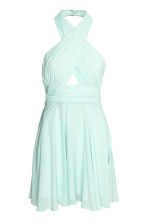Halterneck dress - Mint - Ladies | H&M CN 2