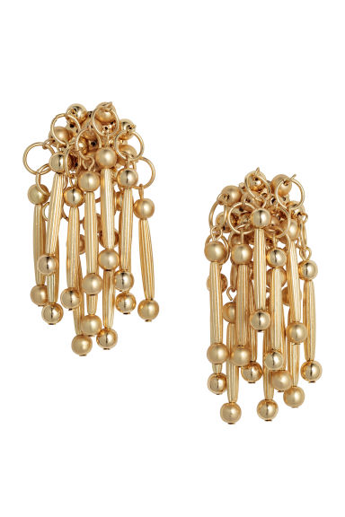 Round earrings - Gold - Ladies | H&M CN 1