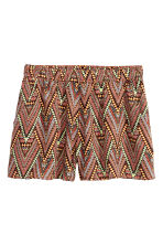 Short shorts - Orange/Patterned - Ladies | H&M CN 2