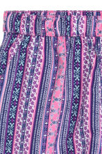 Patterned shorts - Purple/Patterned - Ladies | H&M CN 3