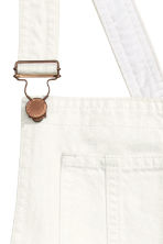 Dungaree shorts - White - Ladies | H&M CN 3