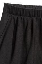 Wide shorts - Black - Ladies | H&M CN 3