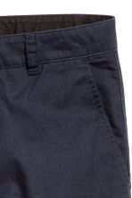 Cotton shorts - Dark blue - Men | H&M CN 3