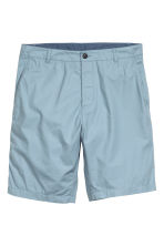 Cotton shorts - Blue - Men | H&M CN 2
