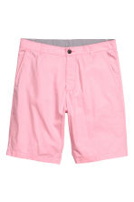 Cotton shorts - Light pink - Men | H&M CN 2