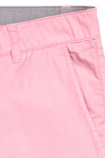 Cotton shorts - Light pink - Men | H&M CN 3