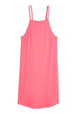 Ribbed jersey dress - Pink - Ladies | H&M CN 2