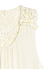 Maxi dress - Natural white -  | H&M CN 2
