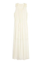 Maxi dress - Natural white -  | H&M CN 1