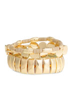 3-pack bracelets - Gold - Ladies | H&M CN 1