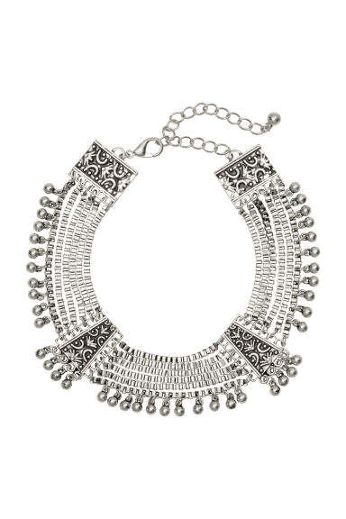 Metal ankle chain - Silver - Ladies | H&M CN 1